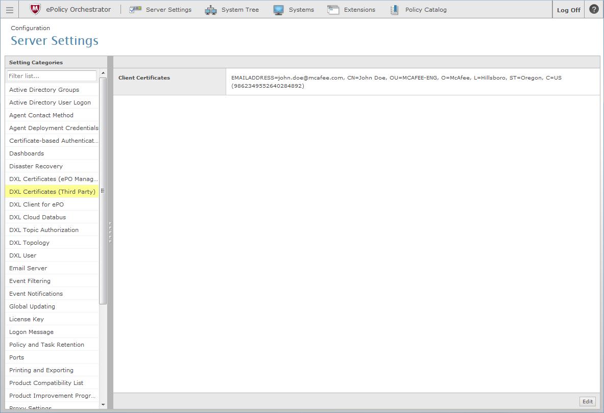 Epo Broker Certificates Export Dxl Python Sdk 410184 Documentation